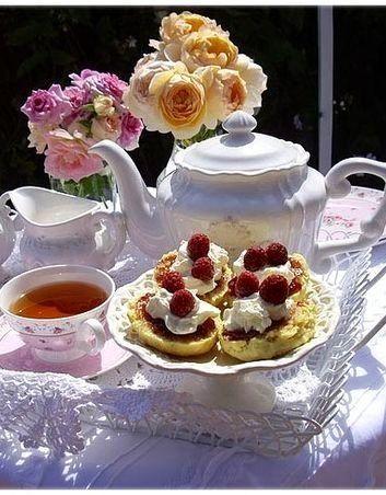 Тістечка до чаю