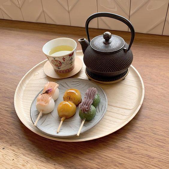 Японські моті до чаю