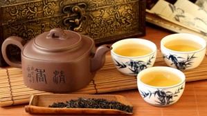 Чайник керамический с пиалами ча бэй