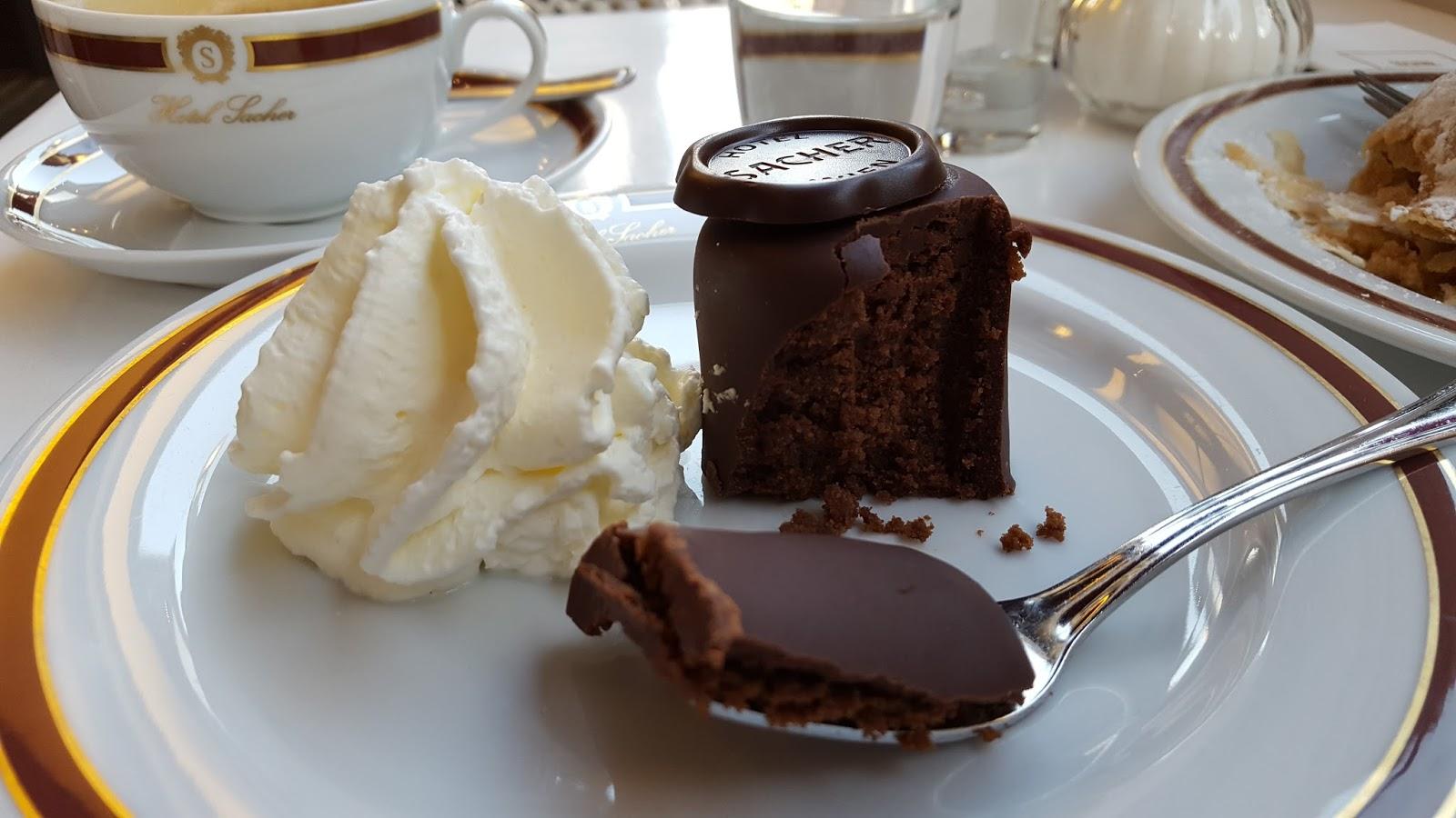 Шоколадний Захер до чаю