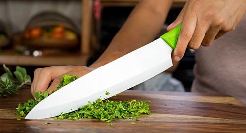 Керамический нож - незаменимый помощник